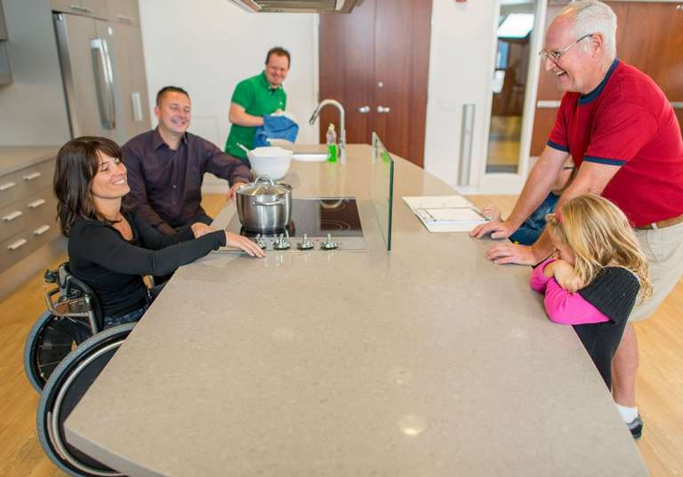 Ideas for wheelchair accessible homes